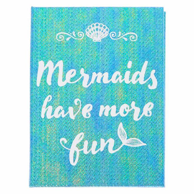 Mermaids Have More Fun Memo Pad Booklet,