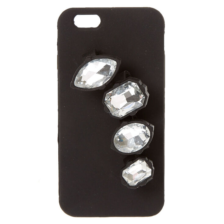 Black Gem Holder Phone Case,