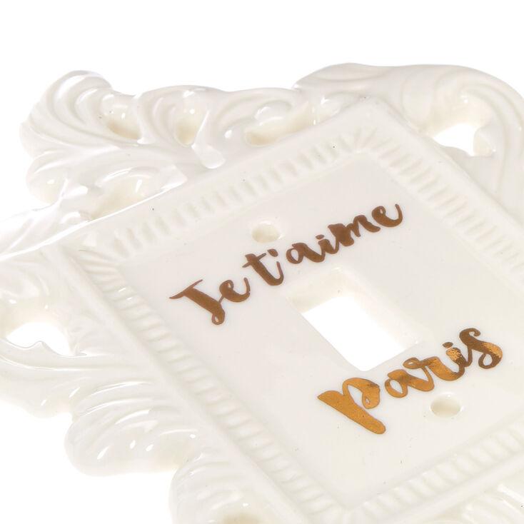 Ceramic Paris Light Switch,