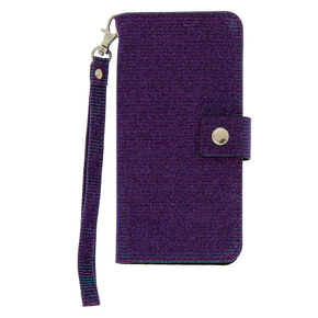 Glitter Folio Phone Case - Fits iPhone 6/7/8,