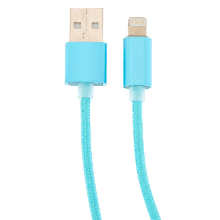 USB 10FT Charging Cord - Mint,