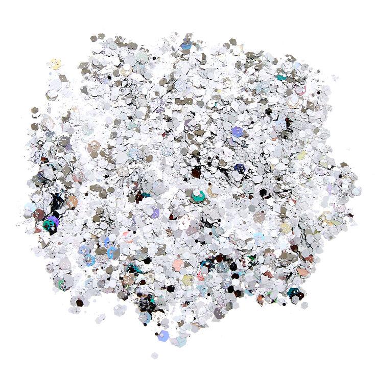 Unicorn Dust Fine Glitter Pouch - Silver,