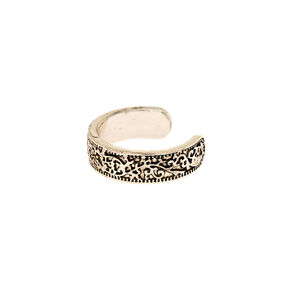 Silver Antique Toe Ring,