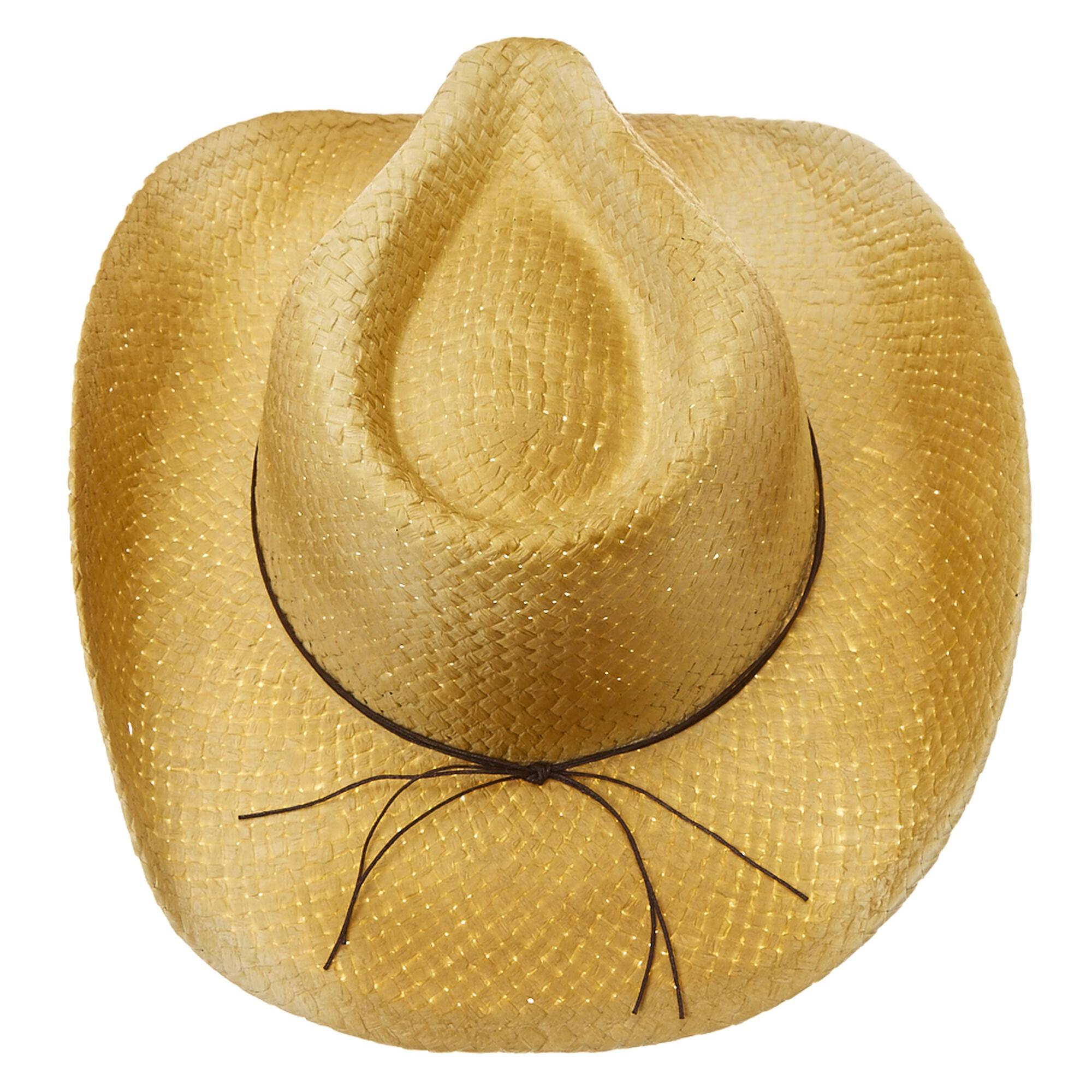 ec1033e8c06ef1 Turquoise Stone Bead Straw Cowboy Hat | Icing US