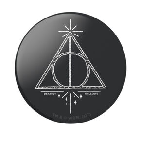 PopSockets Swappable PopGrip - Deathly Hallows,