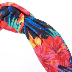 Tropical Palm Knotted Headband,