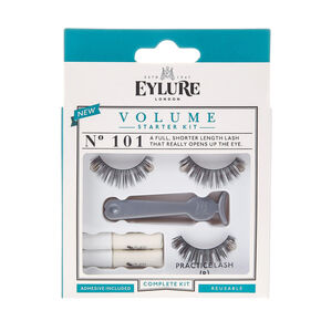 Eylure No. 101 Volume Starter Kit False Lashes,
