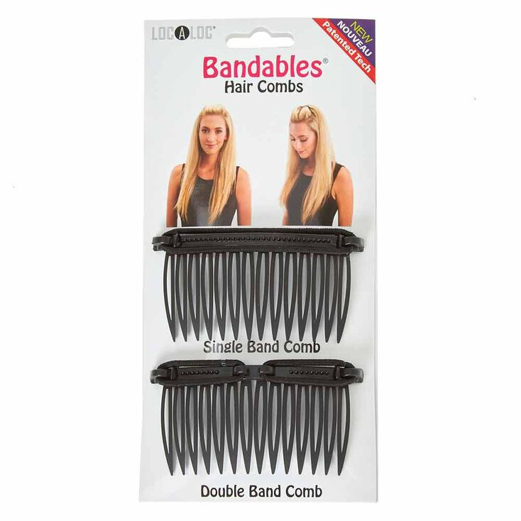 LocALoc® 'Bandables Hair Combs - 2 Pack,