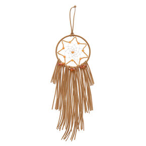Small Tan Dream Catcher,