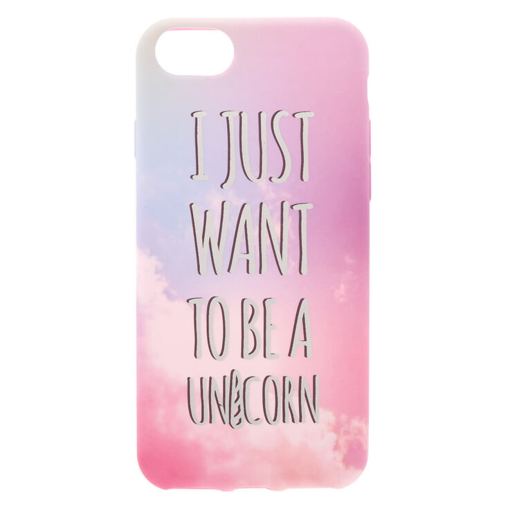 Be A Unicorn Phone Case - Fits iPhone 6/7/8,