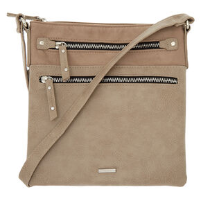Midi Passport Crossbody Bag - Tan,