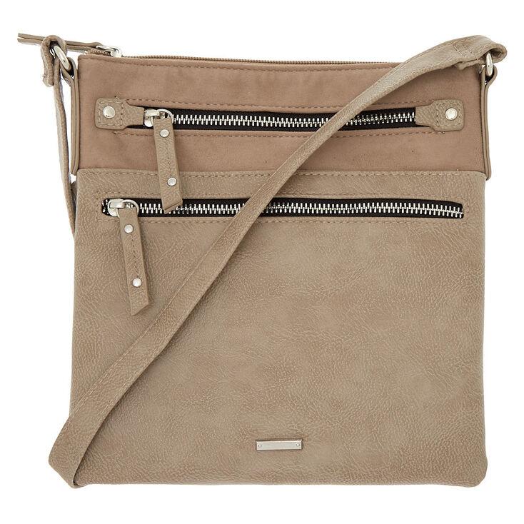 Midi Passport Crossbody Bag - Tan,