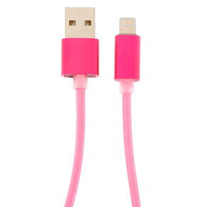 USB 10FT Charging Cord - Pink,