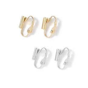 Mixed Metal Post Earring Converters - 2 Pack,