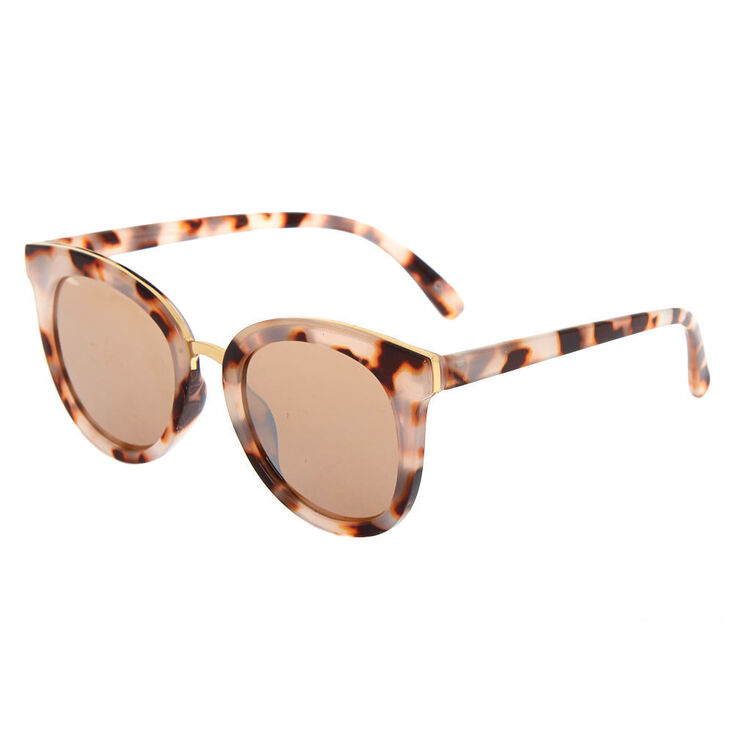 1960s Sunglasses | 70s Sunglasses, 70s Glasses Icing Tortoise Mod Sunglasses - Brown $14.99 AT vintagedancer.com