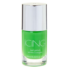Solid Nail Polish - Neon Lime,