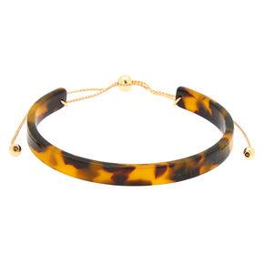 Tortoise Shell Cuff Bracelet,