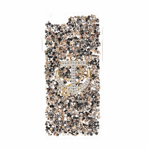 Crystal Embellished Anchor Phone Case - Fits iPhone 6/7/8 Plus,