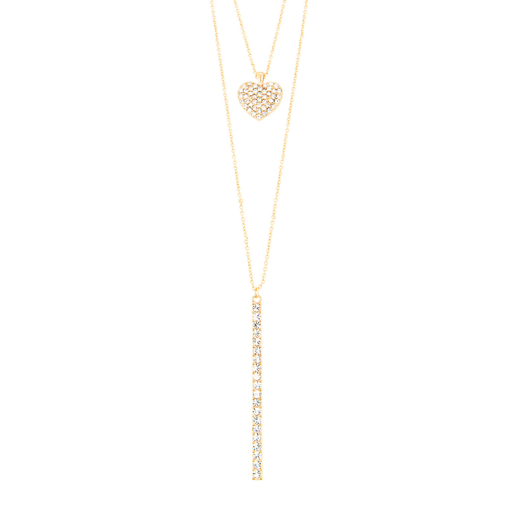 marquise long stone lv bar sh necklace gold catherine popesco shade crystal layering pendant dainty