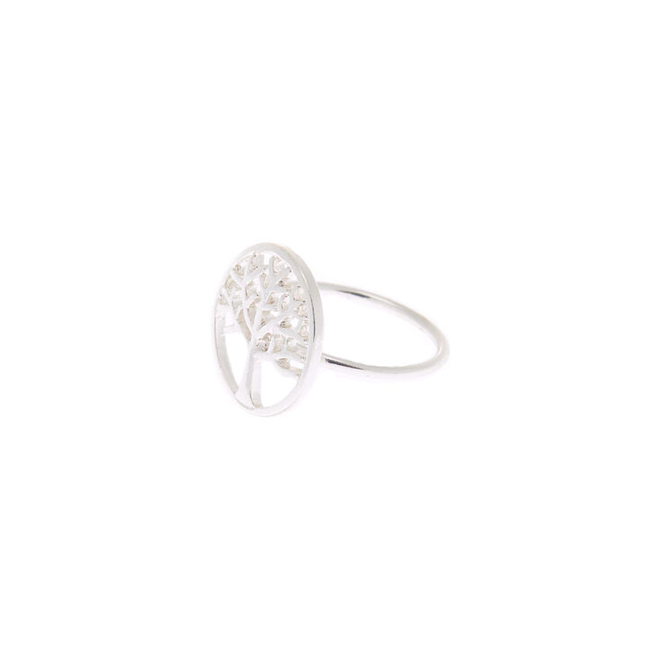 Silver Tree Of Life Ring,