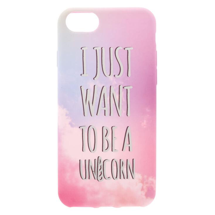 Be A Unicorn Phone Case - Fits iPhone 6/7/8 Plus,