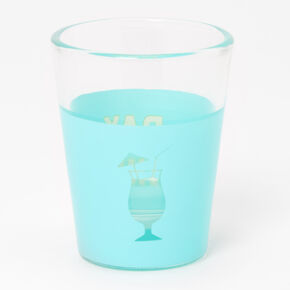 Day Drinkin' Cocktail Shot Glass - Mint,