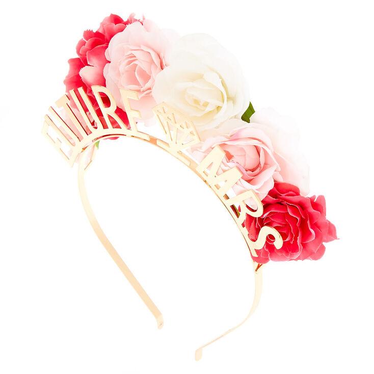 Floral Future Mrs. Headband - Gold,