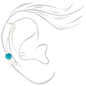 3 Pack Silver-Tone Ear Cuffs,