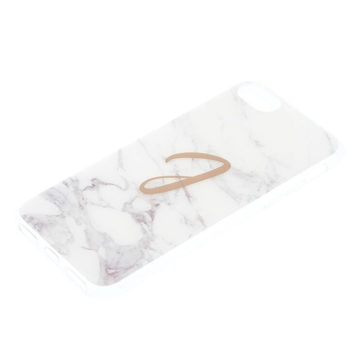 "Marbled ""J"" Initial Phone Case,"