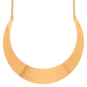 Gold Collar Statement Necklace,