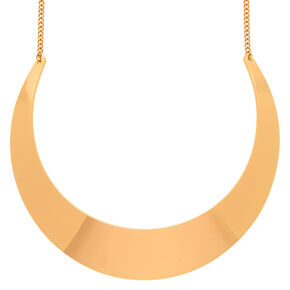 Gold Collar Statement Necklace,