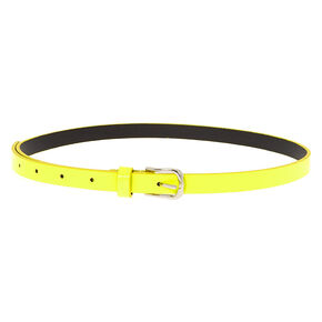 Neon Fashion Belt - Yellow,