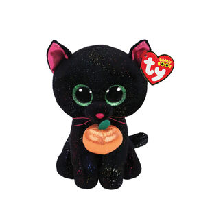 Ty Beanie Boo Small Potion the Cat Plush Toy,