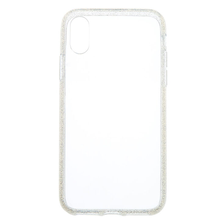 Clear Glitter Phone Case - Fits iPhone X/XS,