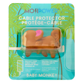 MojiPower® Monkey Cable Protector - Brown,