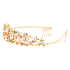 Gold Enchanted Forest Tiara,