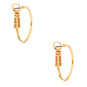 Gold Nature Mixed Earrings - 6 Pack,
