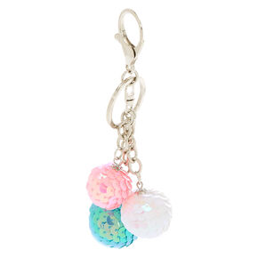 Sequin Ball Keychain,