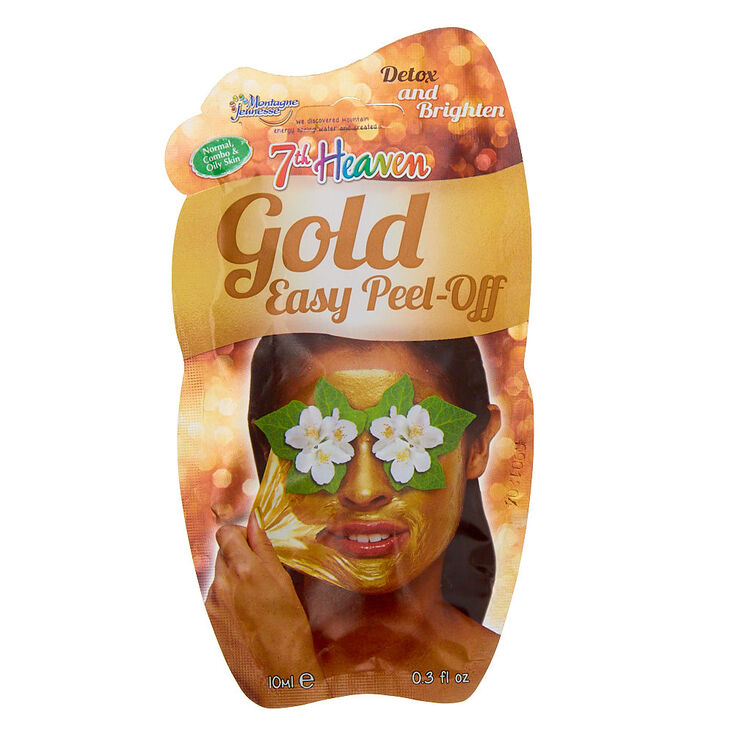 7th Heaven Easy Peel-Off Mask - Gold,