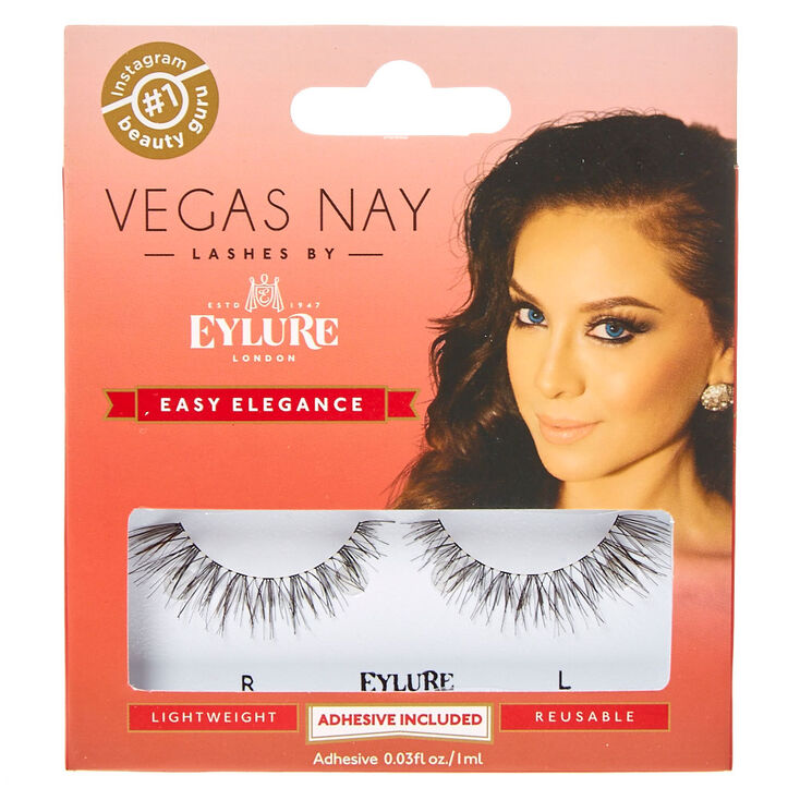 Vegas Nay Easy Elegance Black False Lashes,