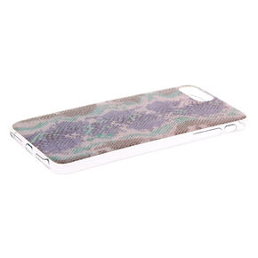 Glitter Snake Skin Phone Case - Fits iPhone 6/7/8 Plus,