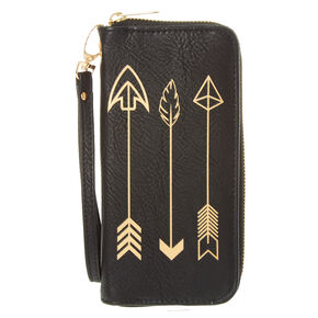 Gold Arrow Wristlet,