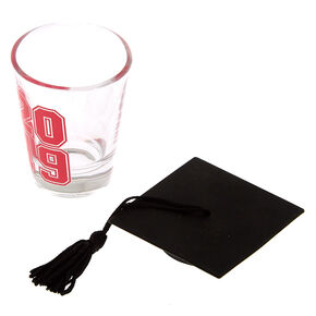 2019 Graduation Shot Glass - Pink,