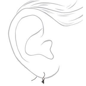 Mixed Metal Earrings - 9 Pack,