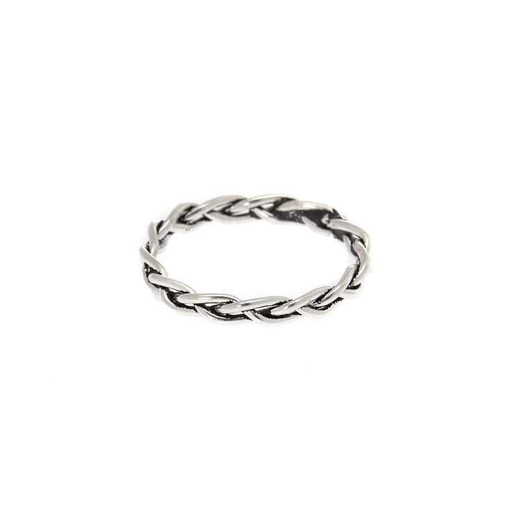 Sterling Silver Chain Toe Ring,