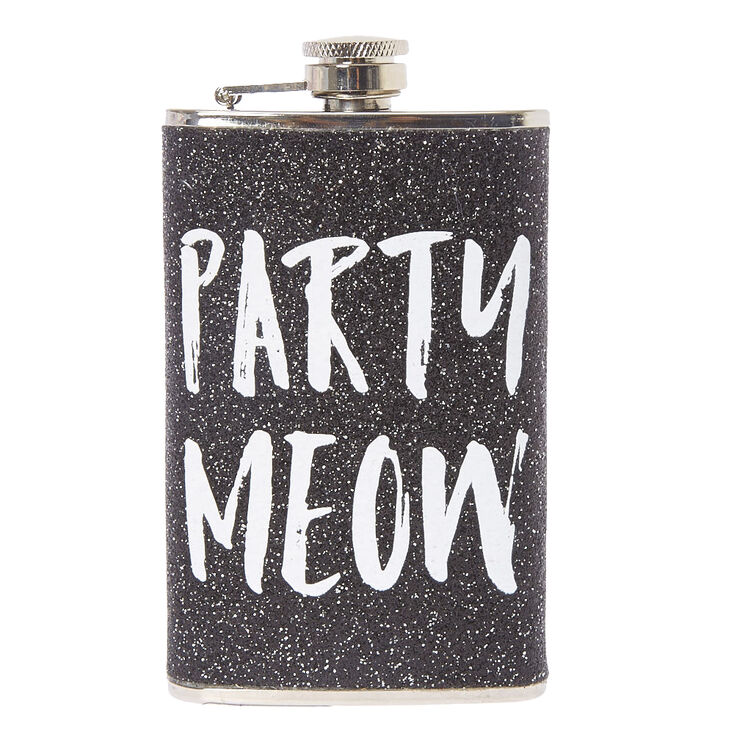 Party Meow Stainless Steel Flask,
