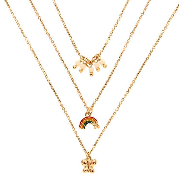 Retro Multi-Layer Necklace Set,