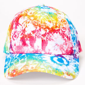 Rainbow Tie Dye Baseball Cap,