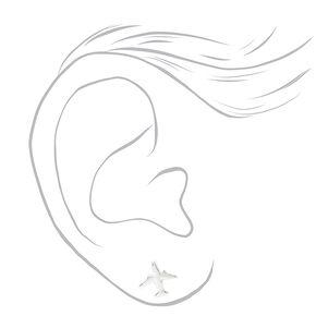 Mixed Metal Travel Stud Earrings - 9 Pack,