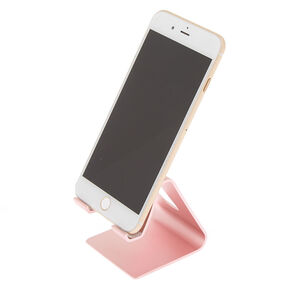 Metallic Phone Stand - Pink,